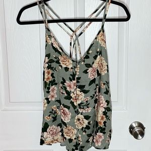 🌼 🆕 American Eagle floral tank top